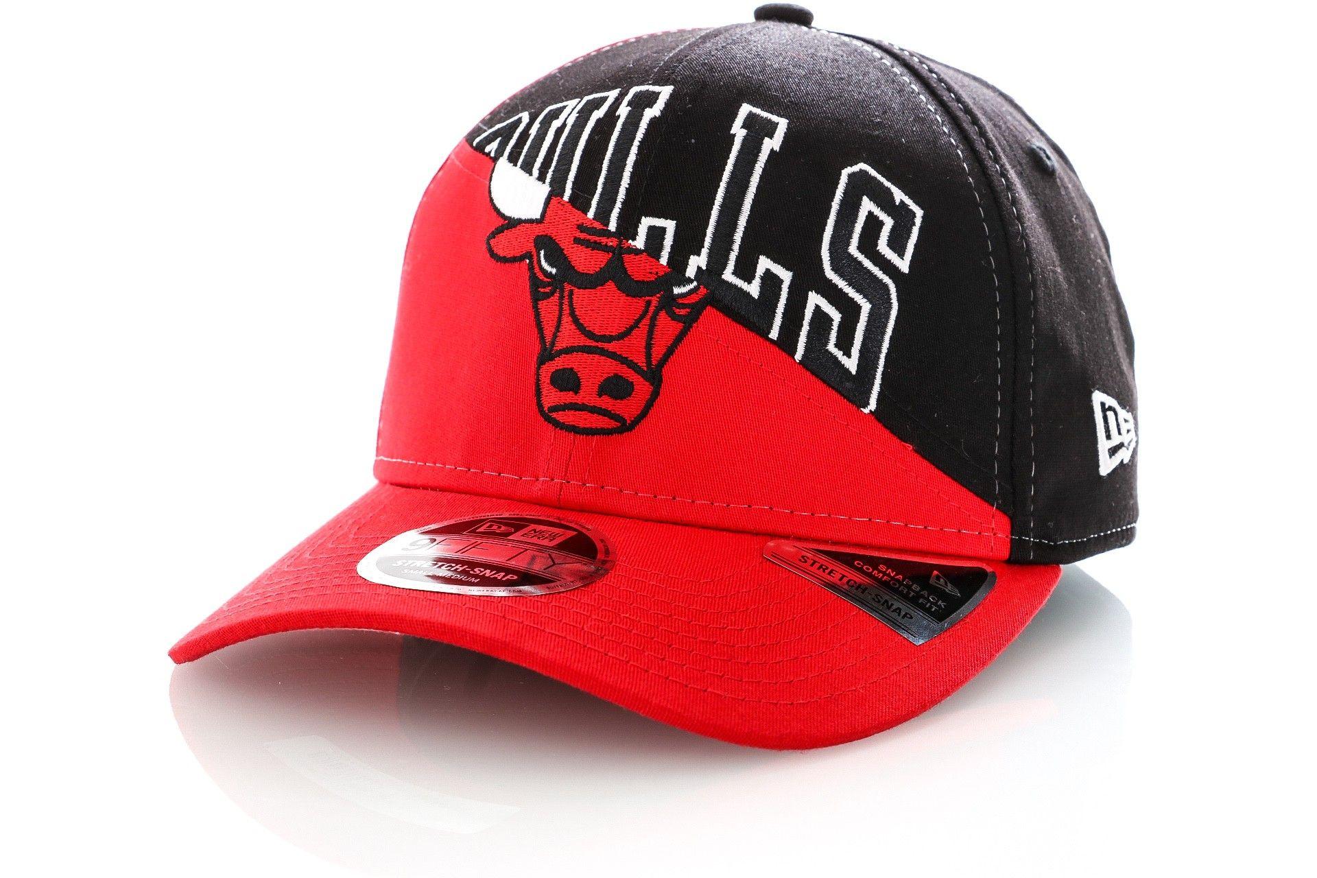 Afbeelding van New Era Snapback Cap Chicago Bulls NBA Team Split Stretch Snap 12134791