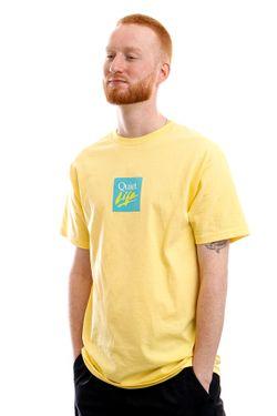 Afbeelding van The Quiet Life T-shirt Miami Logo Banana QL-21SPD1-1145