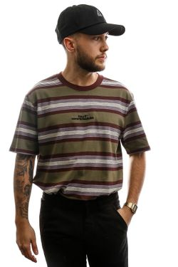 Afbeelding van HUF T-shirt Travis S/S Knit Top Raisin KN00165-RAISN