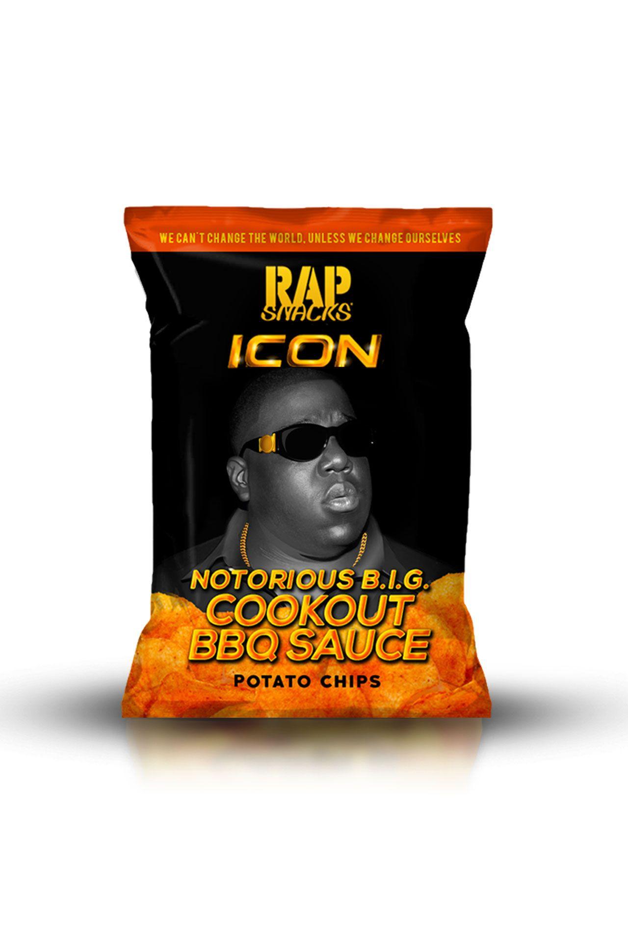 Afbeelding van Rap Snacks Icon Big Poppa 78 gr