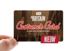 Afbeelding van Go-Britain Customer Card