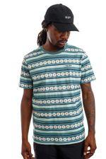 HUF T-Shirt HUF DAISY STRIPE S/S KNIT Sage KN00290