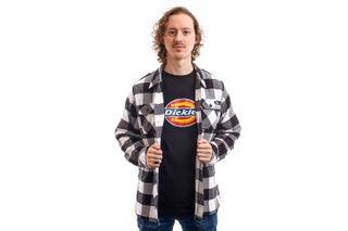 Foto van Dickies Overhemd Sacramento Shirt Black DK0A4X8NBLK1