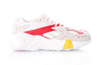 Foto van Reebok Aztrek Double 93 Dv5386 Sneakers White/True Grey/Red