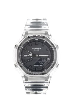 Afbeelding van Casio Horloge G-SHOCK GA-2100SKE Transparant White