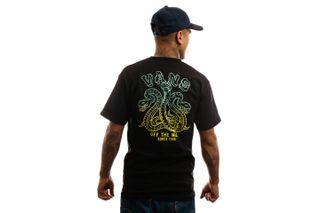 Foto van Vans T-Shirt Mn Tres Culebras Ss Black VN0A49QCBLK1