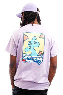 Afbeelding van The Quiet Life T-shirt Bryant Tee Lilac QL-21SPD2-2117