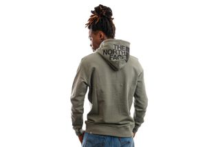Foto van The North Face Hooded Men's Seasonal Drew Peak Pullover Light -Eu Agave Green NF0A2S57V381