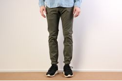 Afbeelding van Reell 1110-004/01-001-160 Chino Flex Tapered Olive