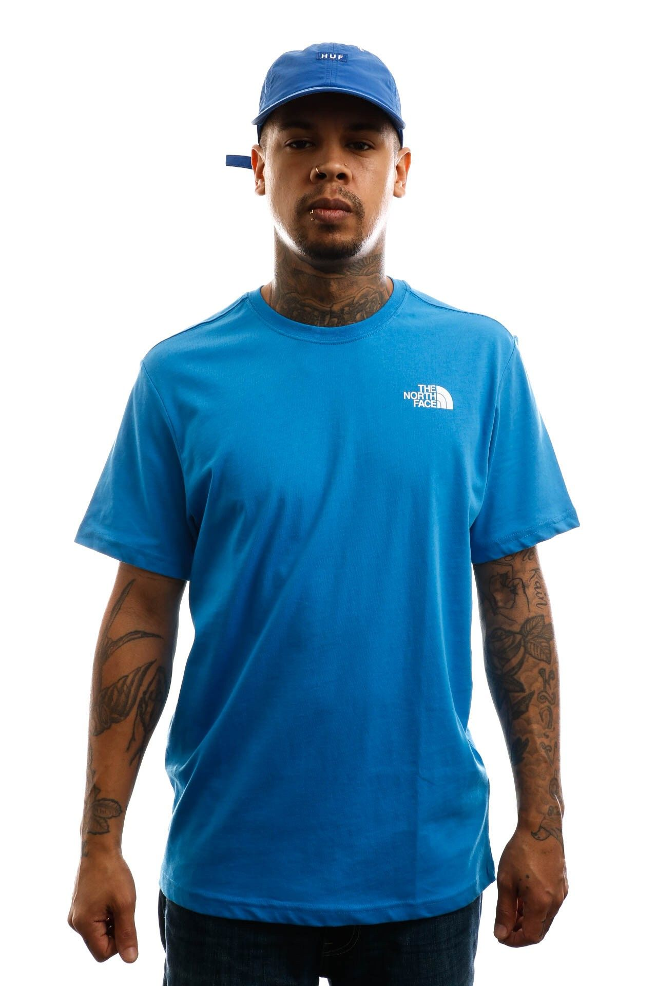 Afbeelding van The North Face T-shirt Men's S/S Redbox Tee Clear Lake Blue NF0A2TX2W8G