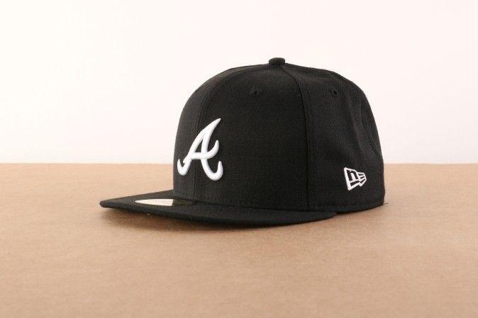 Afbeelding van New Era Fitted Cap Atlanta Braves MLB basic Atlanta Braves 10047487