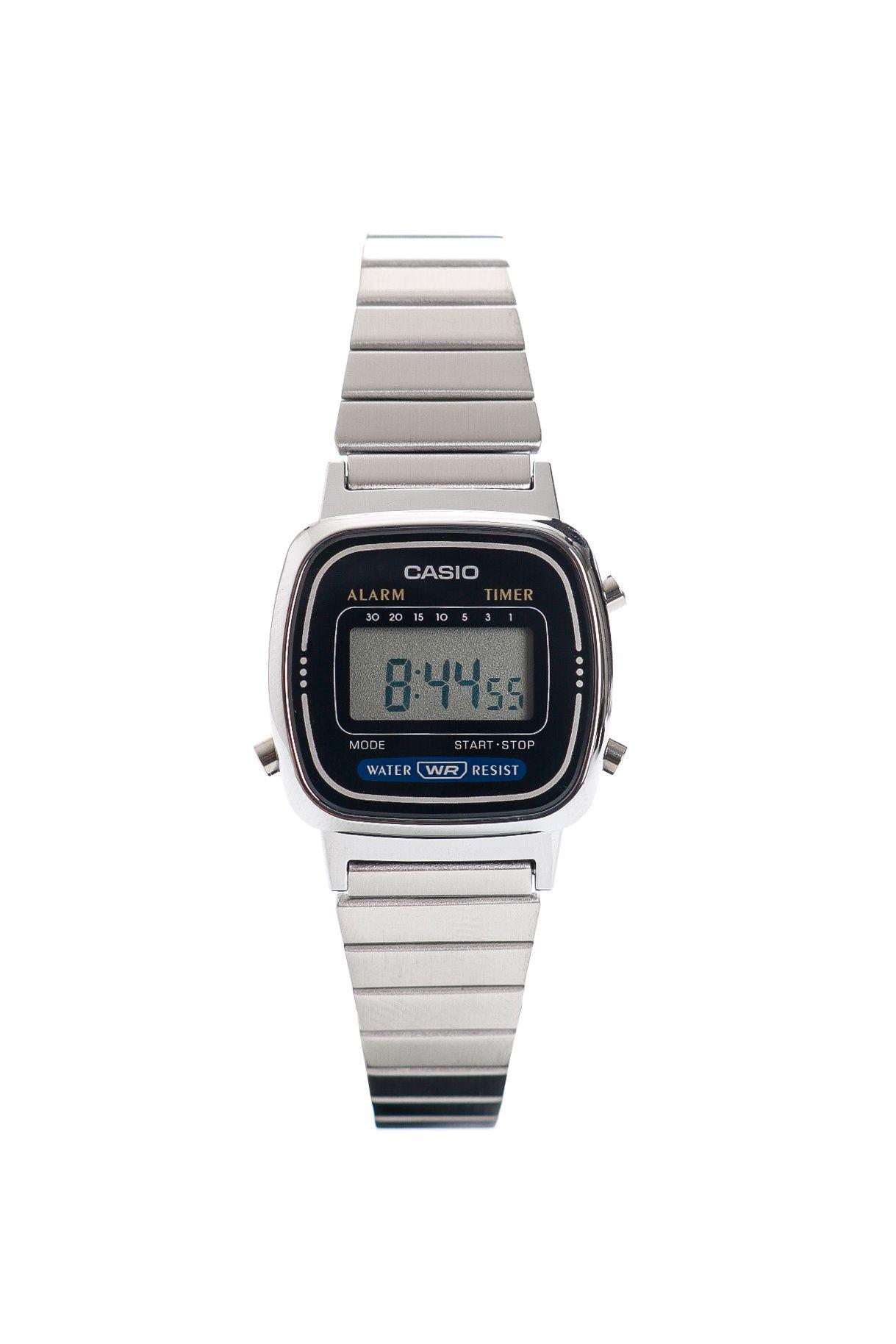Afbeelding van Casio Horloge WRIST WATCH DIGITAL Silver/Black LA670WEA