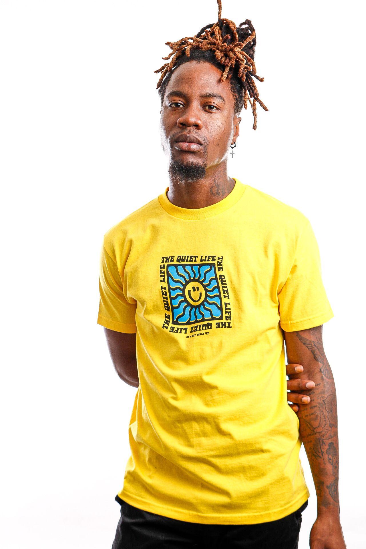 Afbeelding van Quiet Life T-shirt QUIET LIFE SUNSHINE Yellow QL-21SPD2-2137