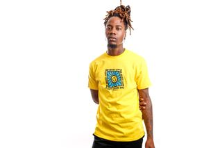 Foto van Quiet Life T-shirt QUIET LIFE SUNSHINE Yellow QL-21SPD2-2137