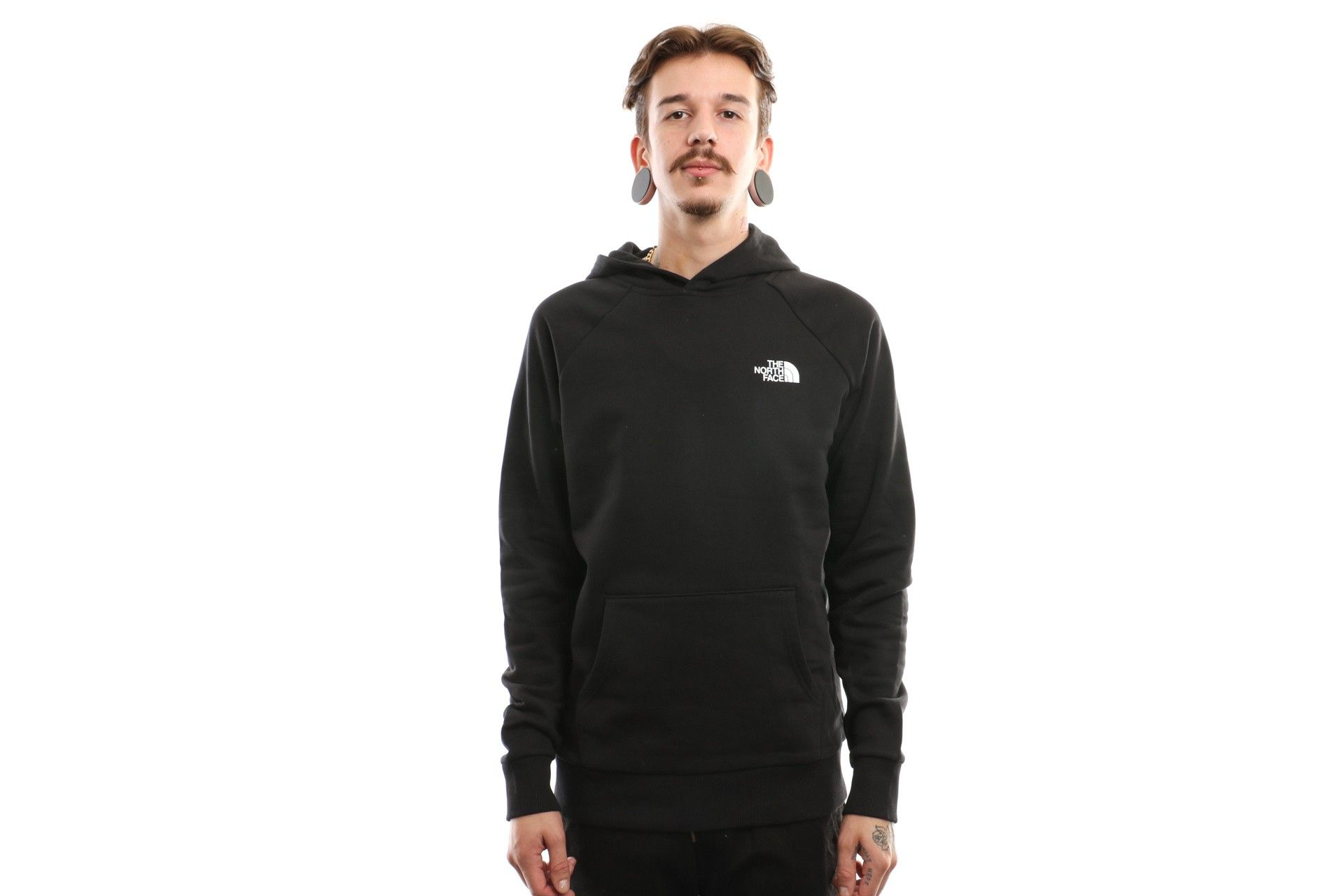 Afbeelding van The North Face Raglan Red Box Hd T92Zwuky4 Hooded Tnf Black/Tnf White