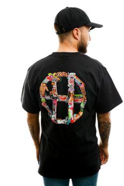 Afbeelding van HUF T-shirt Huf Erotica S/S Tee Black TS01214-BLACK
