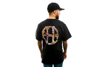 Foto van HUF T-shirt Huf Erotica S/S Tee Black TS01214-BLACK