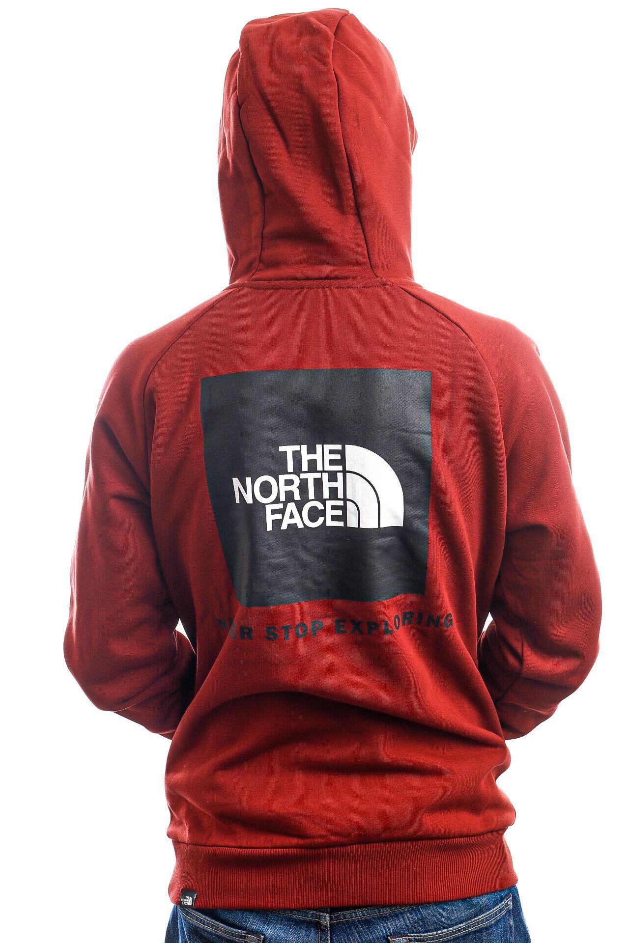 Afbeelding van The North Face Hoodie M RAGLAN REDBOX BRICK HOUSE RED NF0A2ZWUBDQ1