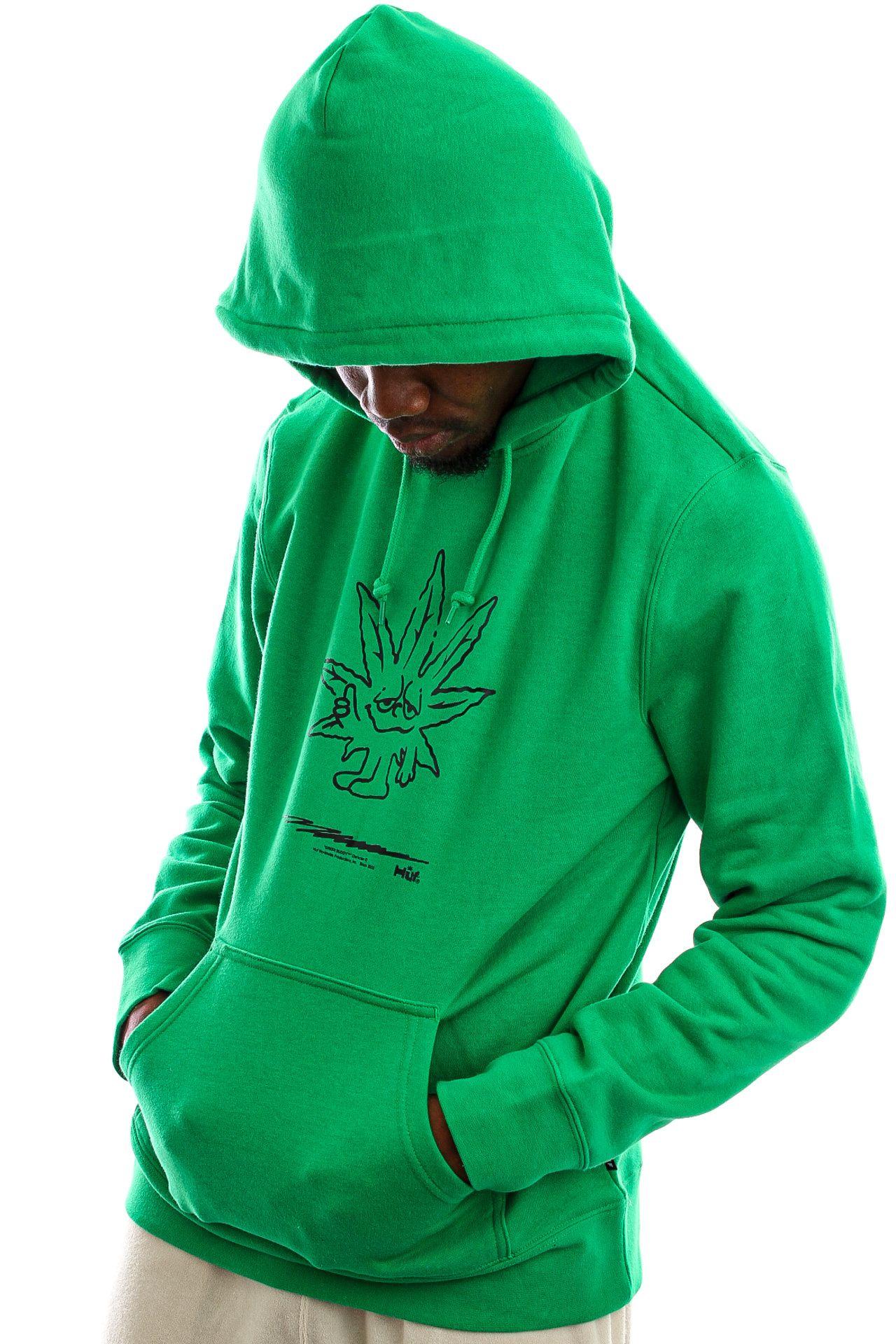Afbeelding van HUF Hoodie Easy Green P/O Hoodie Green PF00446