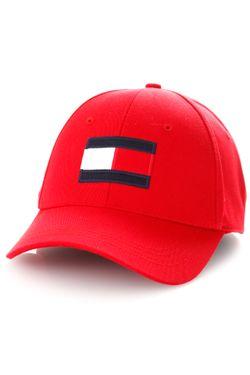 Afbeelding van Tommy Hilfiger Dad cap BIG FLAG CAP, XLG Primary Red AM0AM04508
