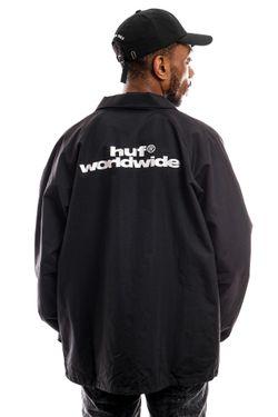 Afbeelding van HUF Jas Untitled Coaches Jacket Black Jk00257-Black