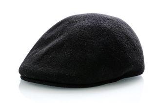 Foto van Kangol Seamless Wool 507 K0875Fa Flatcap Black