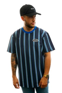 Afbeelding van HUF T-shirt Jerome Yds S/S Knit Top Beryl Green KN00167-BRGRN