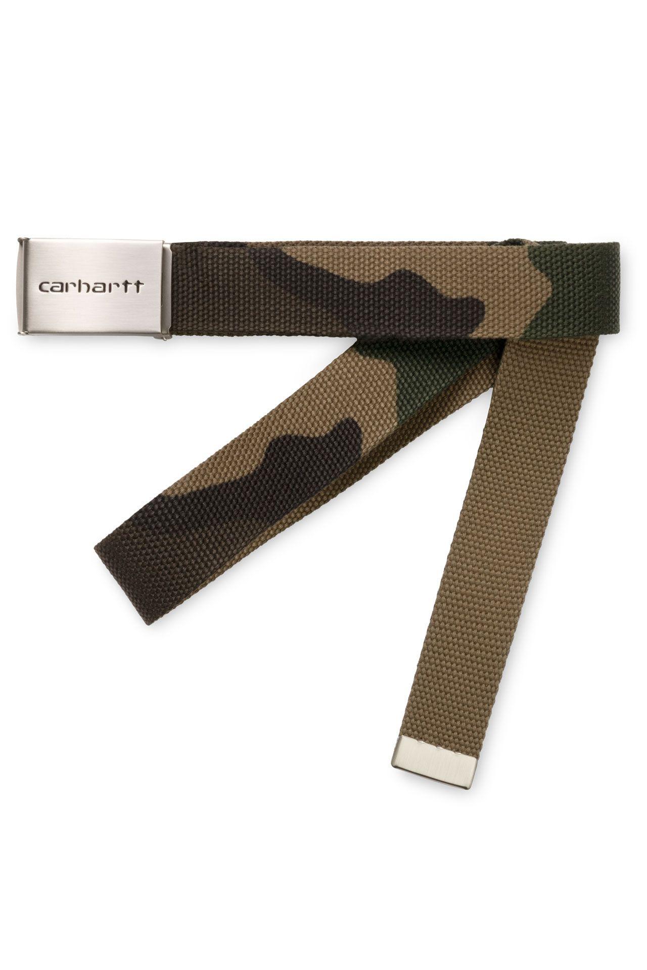 Afbeelding van Carhartt Riem Clip Belt Chrome Camo Laurel I019176