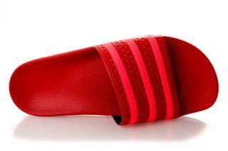 Foto van Adidas Adilette W Ee6185 Sneakers Scarlet/Flash Red/Scarlet
