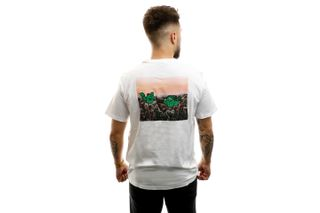 Foto van Levi's T-shirt Graphic Crewneck Tee Bi Cacti White 22491-0738