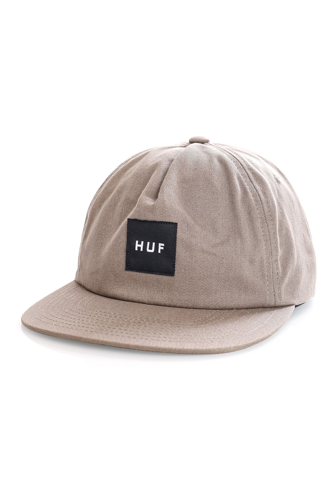 Afbeelding van HUF Snapback HUF ESS UNSTRUCTURED BOX LOGO Brown HT00544