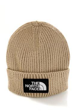 Afbeelding van The North Face Muts TNF LOGO BOX CUFFED SHT FLAX NF0A3FJXCEL1
