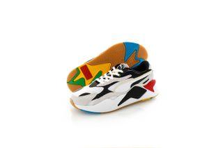 Foto van Puma Sneakers RS-X³ WH puma white-puma black 373308 01