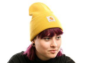 Foto van Carhartt Wip Acrylic Watch Hat I020222 Muts Colza