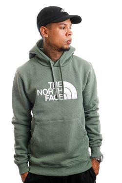 Afbeelding van The North Face Hoodie M DREW PEAK PULLOVER LAUREL WREATH GREEN NF00AHJYV1T1