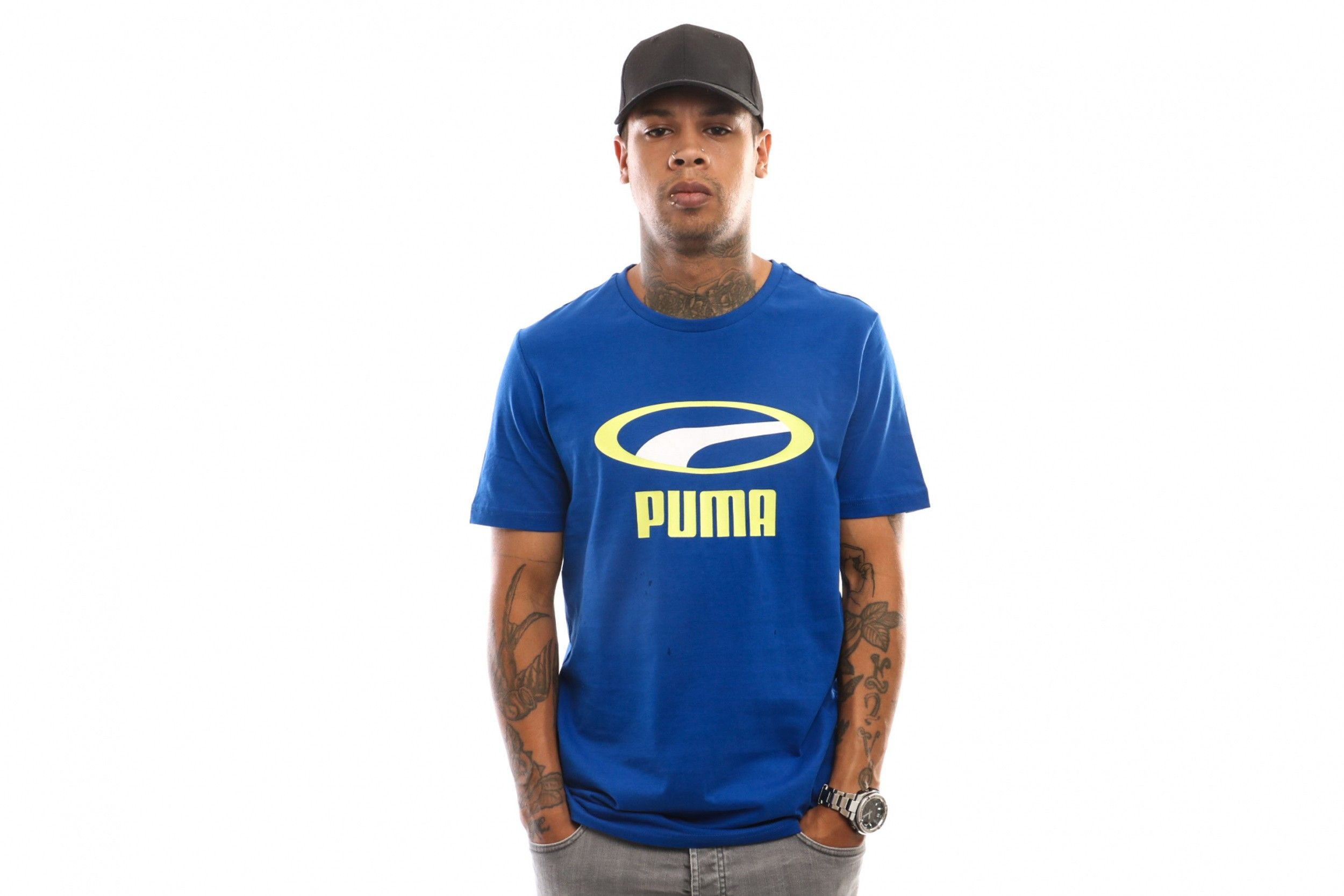Afbeelding van Puma Graphic Tee Xtg 595663 73 T Shirt Surf The Web