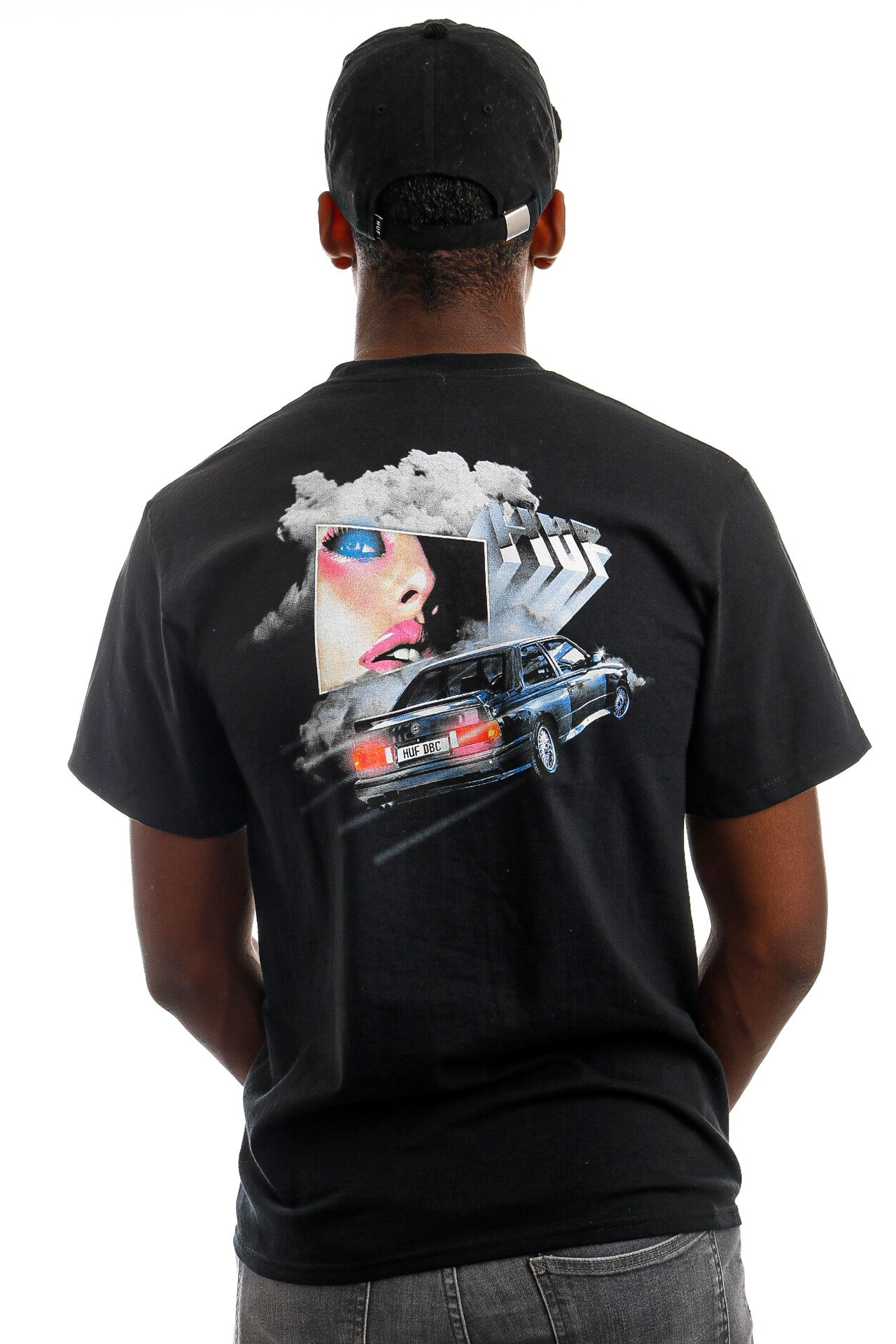 Afbeelding van HUF T-Shirt HUF TRIPLE BEAM DREAM S/S Black TS01522
