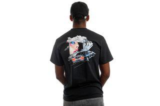 Foto van HUF T-Shirt HUF TRIPLE BEAM DREAM S/S Black TS01522