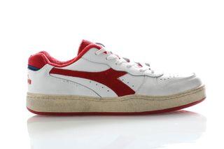 Foto van Diadora Sneakers Mi Basket Low Used White/Tomato Puree 501175757