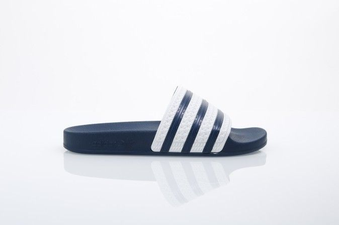 Afbeelding van Adidas Originals G16220 Slide Sandal Adilette Blue/White