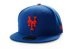 Afbeelding van New Era Fitted Cap New York Mets Ac Perf 59Fifty 70360938