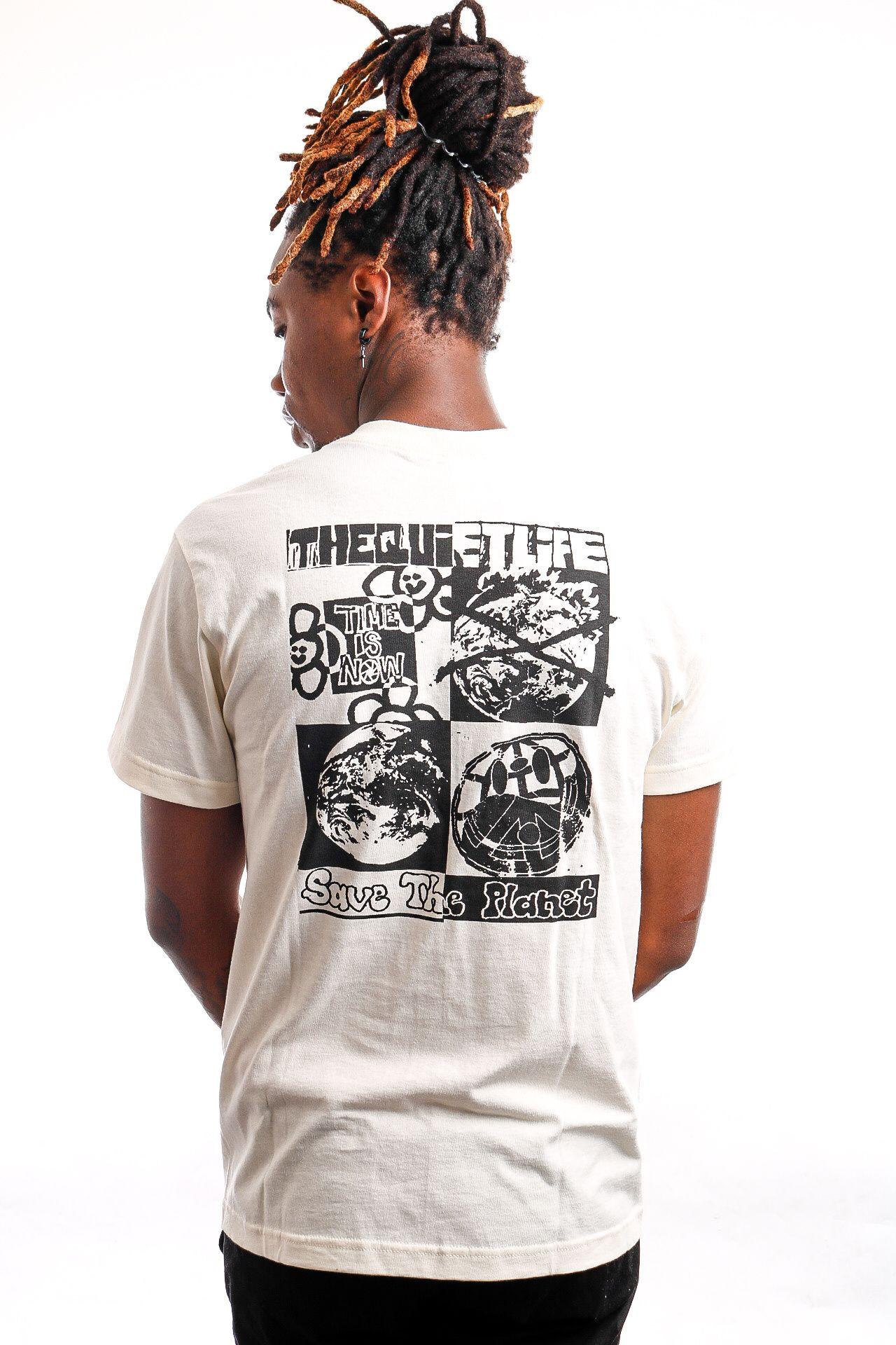 Afbeelding van Quiet Life T-shirt QUIET LIFE TIME IS NOW S/S T-SHIRT NATURAL L Natural QL-21SPD2-2134