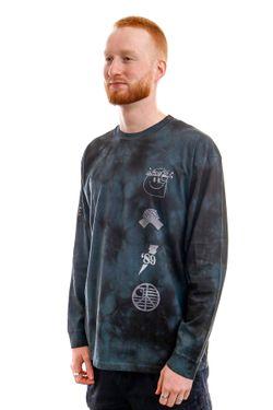 Afbeelding van Carhartt Longsleeve L/S Tab T-Shirt Chromo Black / White I028933