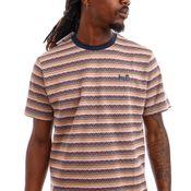 HUF T-Shirt HUF ALLEN S/S KNIT Dusty Rose KN00289