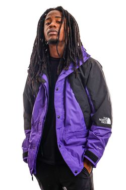 Afbeelding van The North Face Jas Men's Mtn Light Dryvent Ins Jacket Peak Purple NF0A3XY5NL41