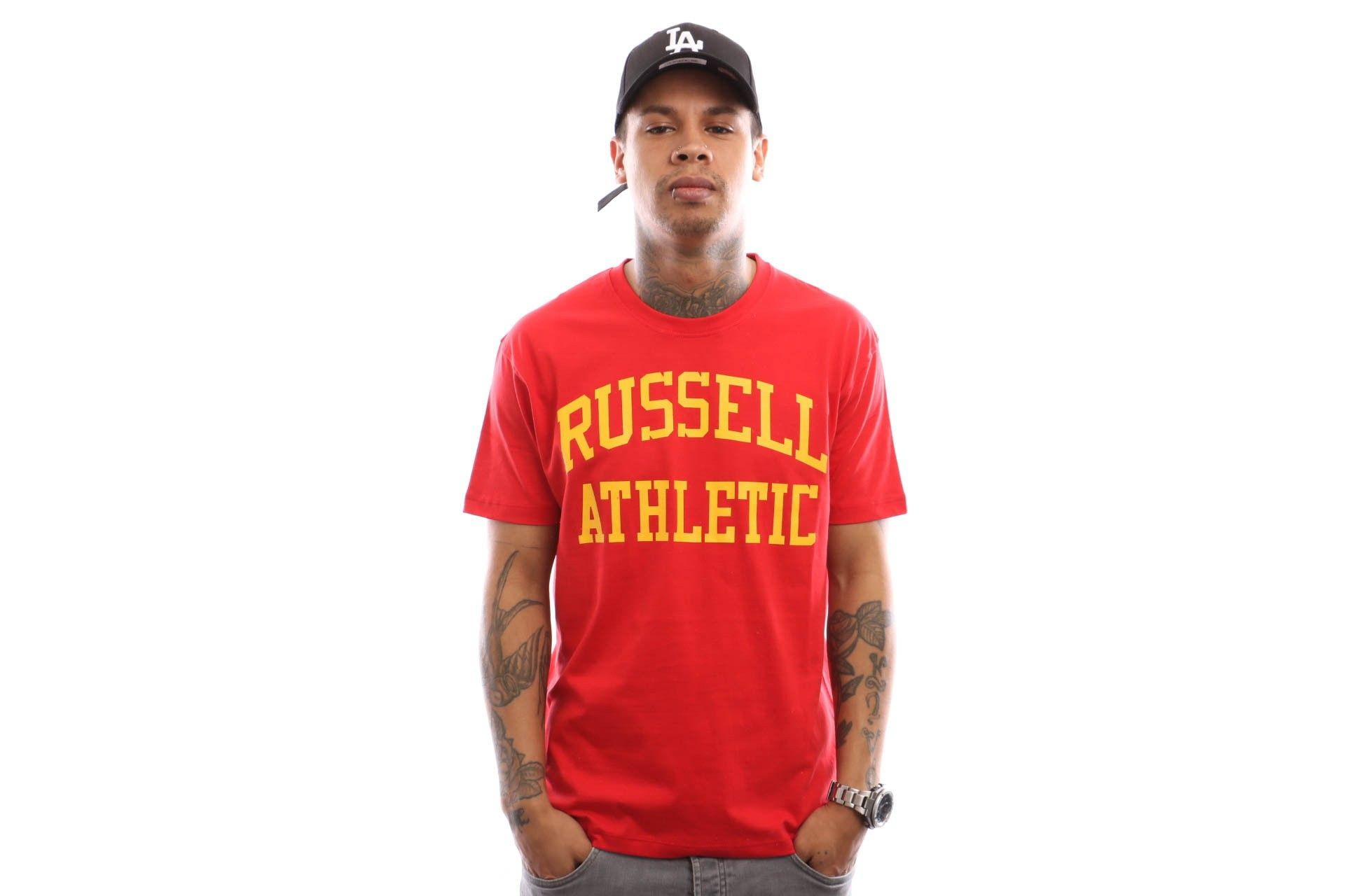 Afbeelding van Russell Athletic Iconic Short Sleeve A9-002-1 T Shirt True Red