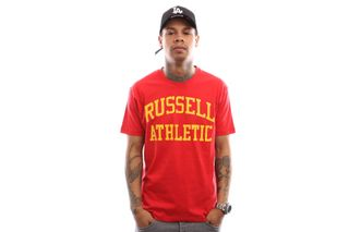 Foto van Russell Athletic Iconic Short Sleeve A9-002-1 T Shirt True Red