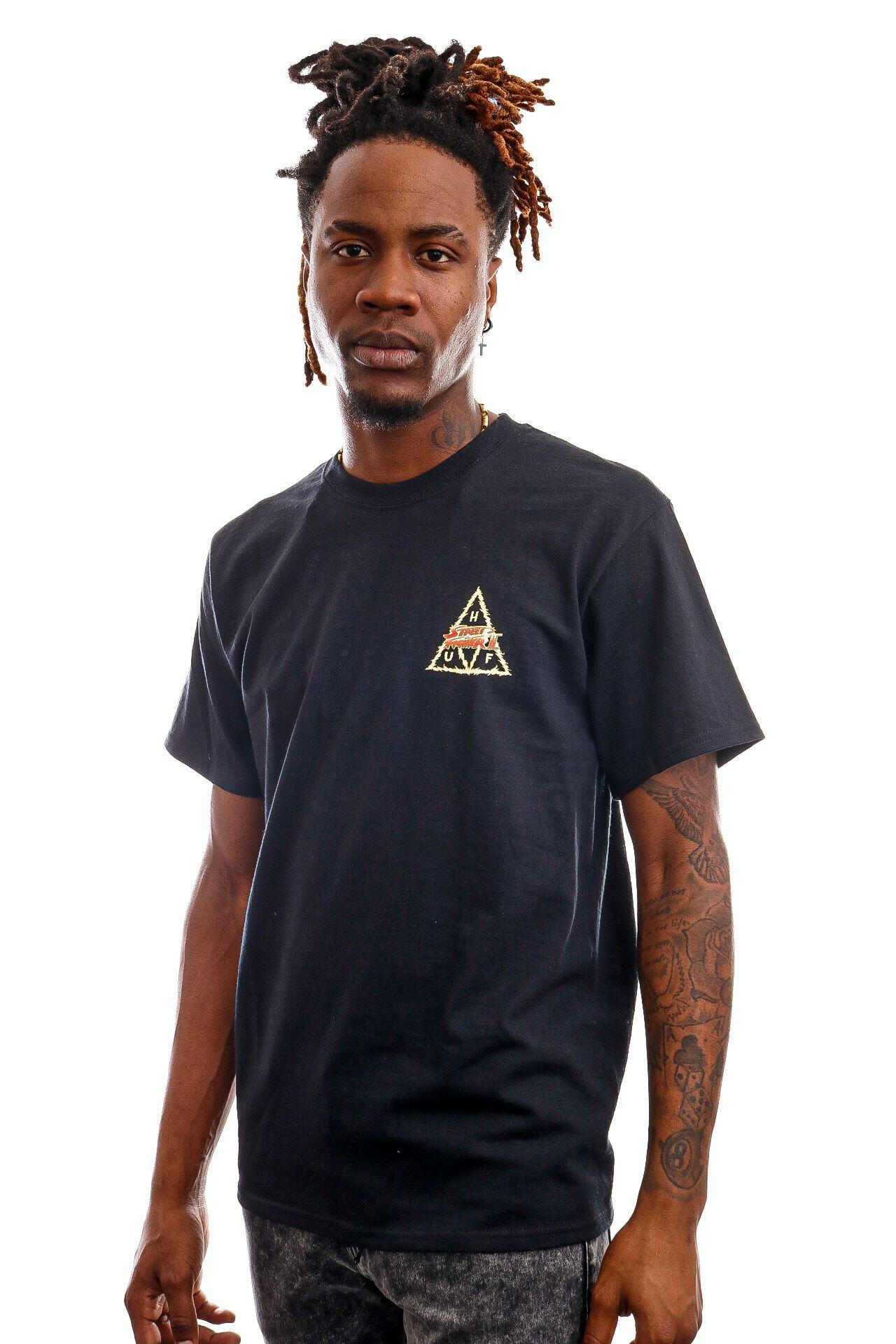 Afbeelding van HUF T-Shirt Blanka TT S/S Tee Black TS01554