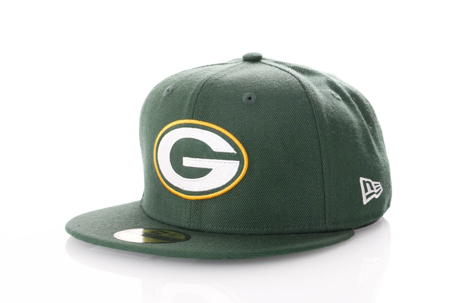 Afbeelding van New Era Fitted Cap Green Bay Packers Green Bay Champs Pack 59Fifty 11871527