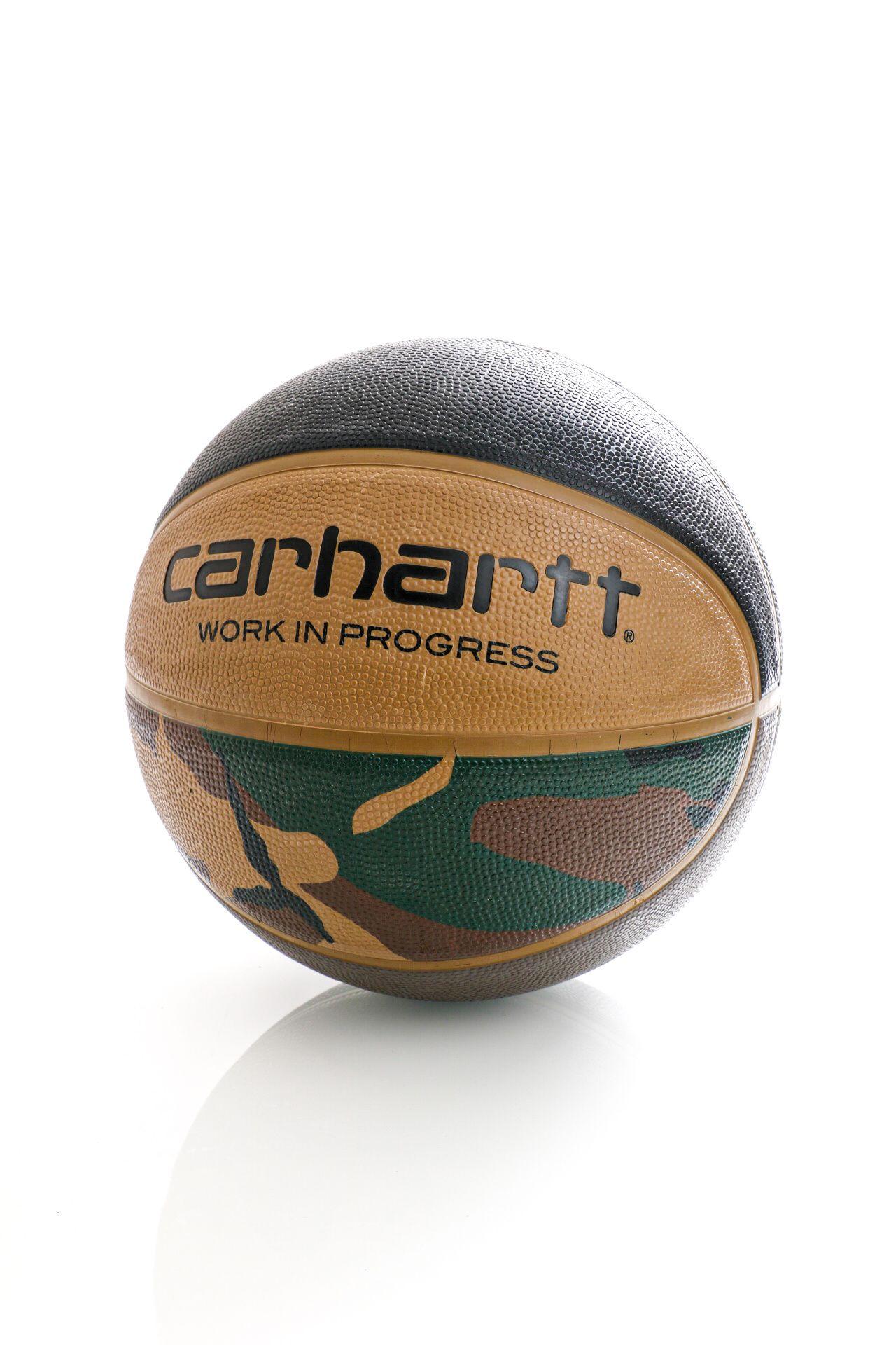 Afbeelding van Carhartt Valiant 4 Basketball Camo Laurel, Black, Air Force Grey, Leather I021385